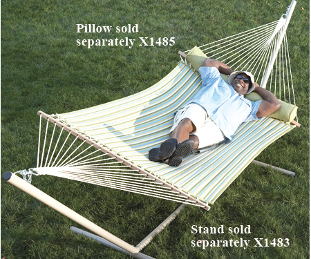 plans to build a wooden hammock stand | breezy05cbl