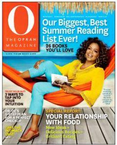 Oprah in hammock