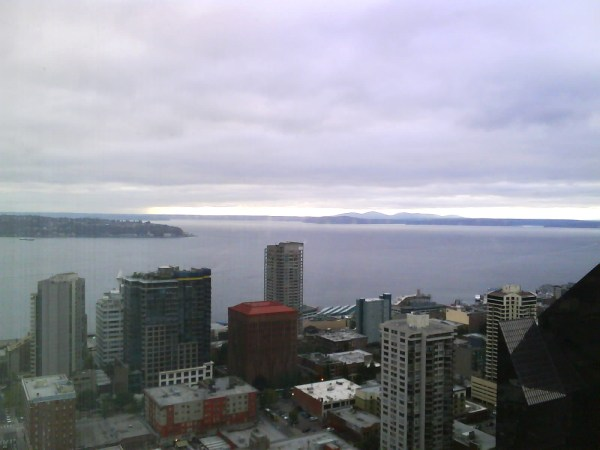 Elliott Bay and some of West Seattle