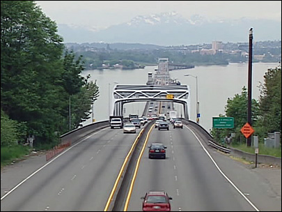 520 bridge facing west